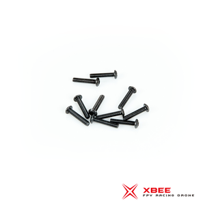 Button Head screw M3 x 12mm (SCM435 Black Oxiding)
