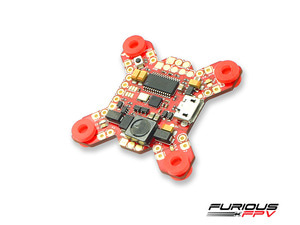 [Furious] FORTINI F4 32Khz 16MB Black Box Flight Controller- OSD